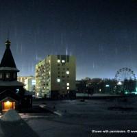 световой лес в Новосибирске, фото — Вадим Воронцов