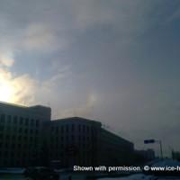 16 января, Минск, паргелий
