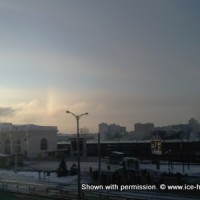 1 февраля, Минск, паргелии