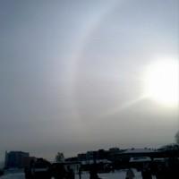 26 января, Минск, малое гало