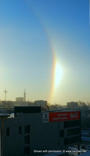 Наблюдение гало в Екатеринбурге