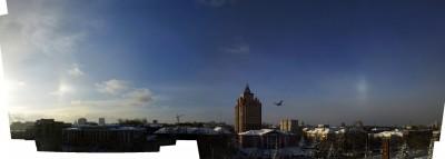 панорама наблюдения