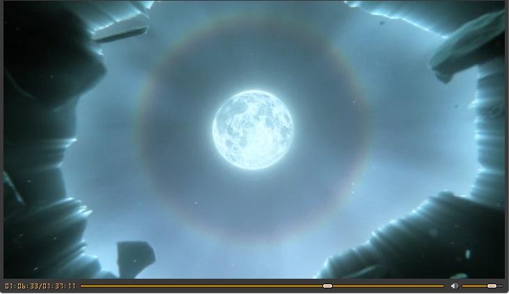 Необычные фото Moon_halo