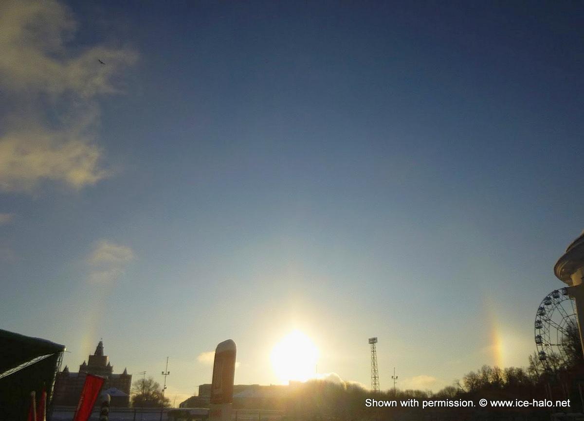 Фотографии радуги на небе