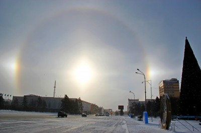 гало в Павлодаре