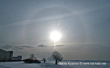 круг вокруг солнца - это гало