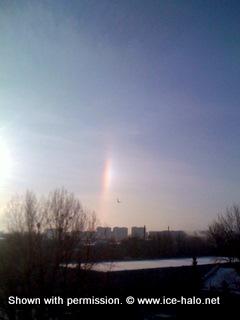 паргелий, ложное солнце