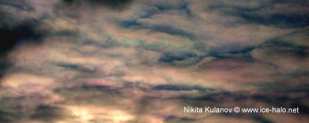 Радужные облака в СПб